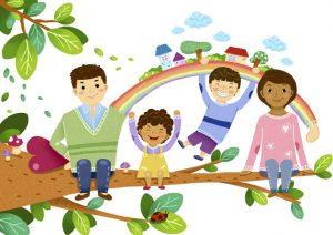 мультикультурная семья