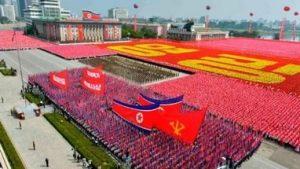 Парад в Корее